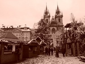 Old Town Square Xmas market