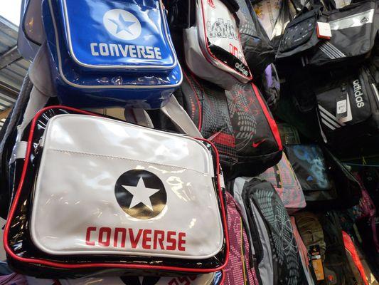 converse bags in Uzgorod market
