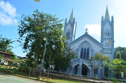 cathedral in Puerto Princesa, Palawan
