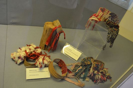 indigenous tribe jewelry in Palawan Heritage Museum in Puerto Princesa