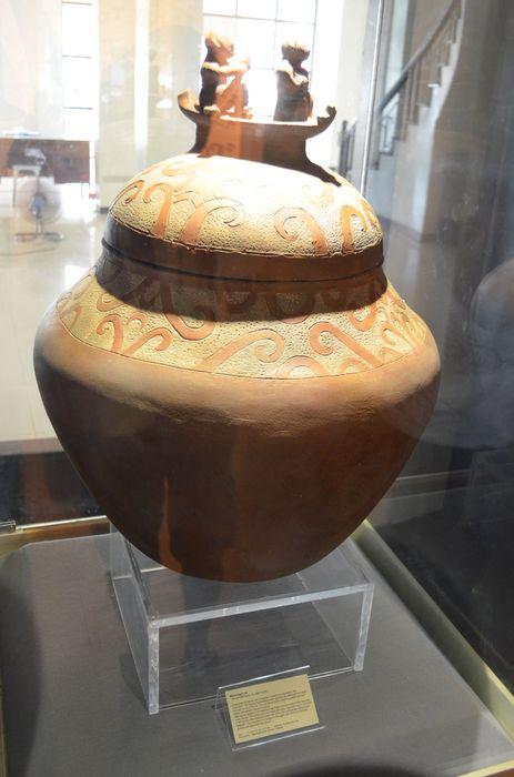 replica of Manunngul jar in Palawan Heritage Museum in Puerto Princesa