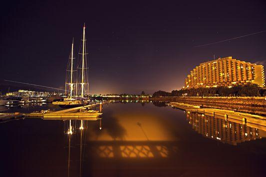 stockvault-hong-kong-gold-coast-at-night