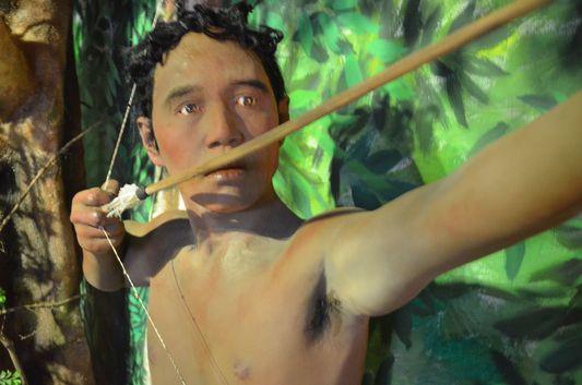 the Batak indigenous tribe in Palawan Heritage Museum in Puerto Princesa