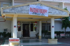 the President Hotel from outside, Dagupan, Pangasinan, Philippines;