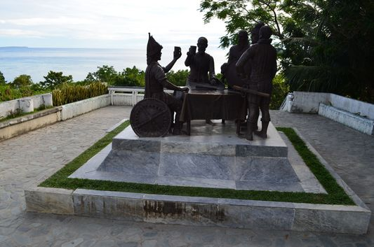 Blood Compact Shrine close to Tagbilaran City in Bohol