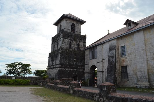 oldest church in the Philippines - Baclayon church