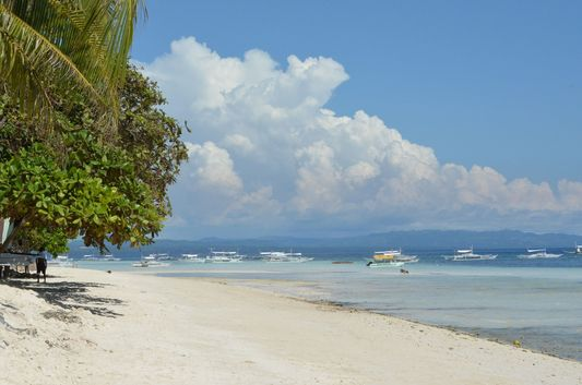 photo of Dumaluan beach in Bohol
