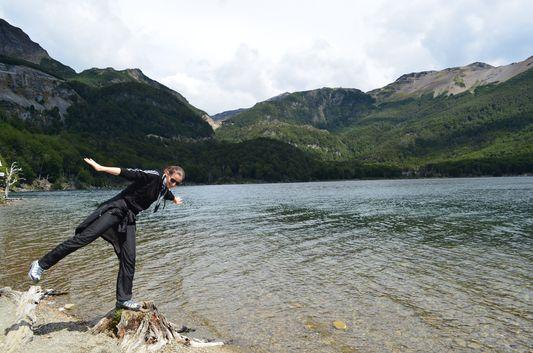 should I jump or should i not into Lago Escondido`