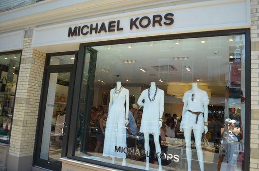 Michael Kors boutique on Bleecker Street in Greenwich Village