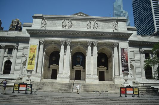 New York Public Library featured in SATC too
