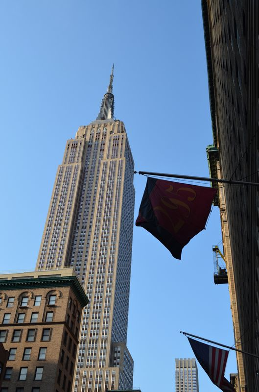 streetview of the Empire State Building