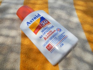 my sunscreen lotion with betacarotene
