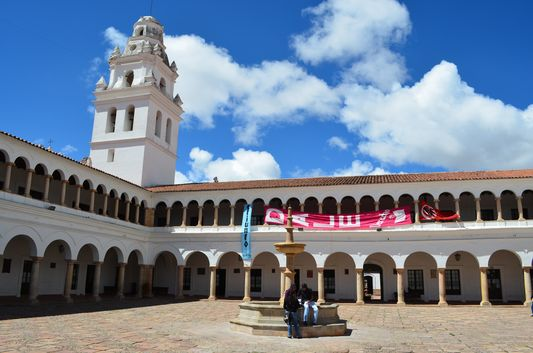 white Faculty of Law in Sucre