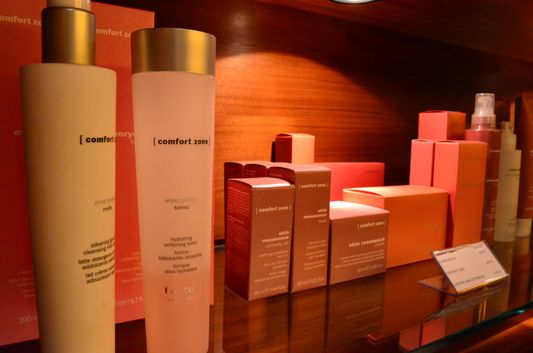 Comfort Zone products used in Shine Spa in Sheraton Bratislava