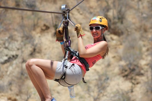 Hilarious flying through hot heaven – Wild Canyon zip line in Los Cabos