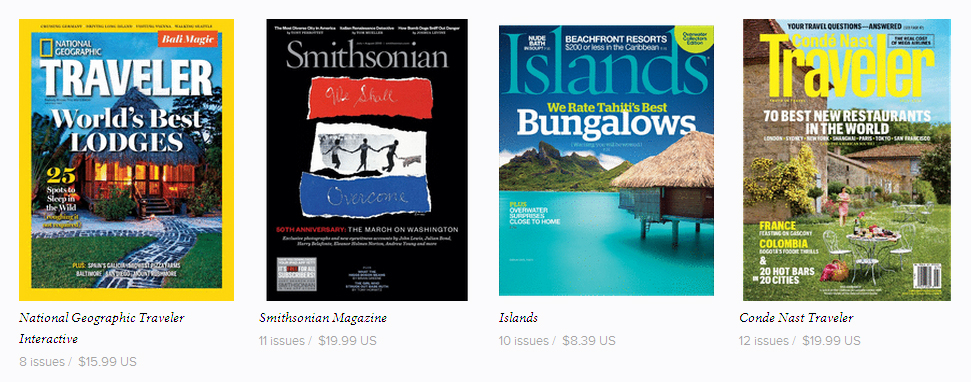 Win magazine subscriptions and Cancun holidays – old competition