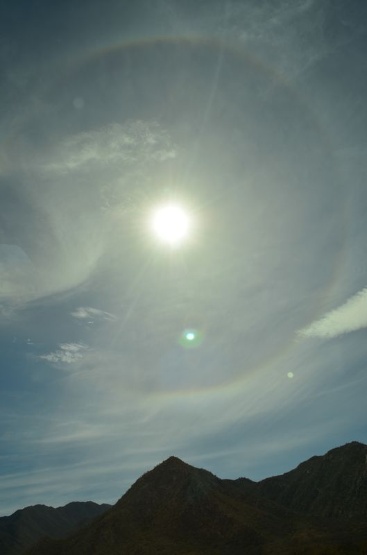 a sun dog in Mexico