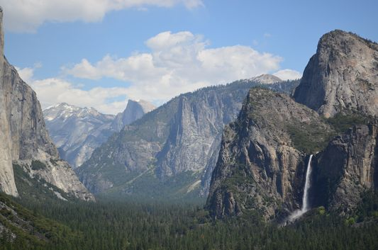 part of Yosemite from Inspiration Point Tunnel View