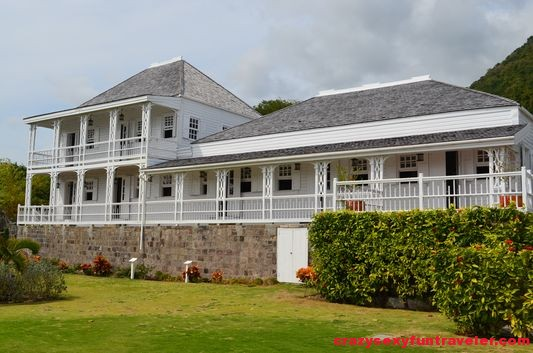rebuilt Fairview Great House St. Kitts