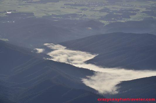 clouds in La Garrotxa
