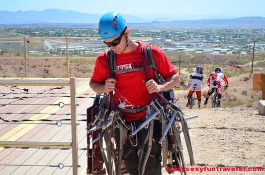 Flightlinez Bootleg canyon zipline Las Vegas (27)
