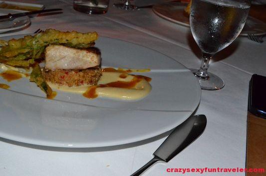 dinner at Restaurant 750