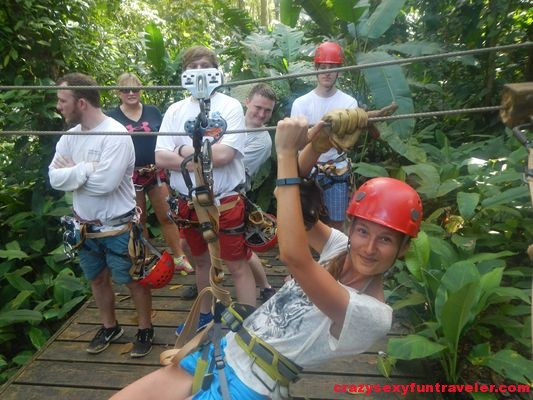 Bastimentos Sky Zipline Canopy Tour at Red Frog Beach