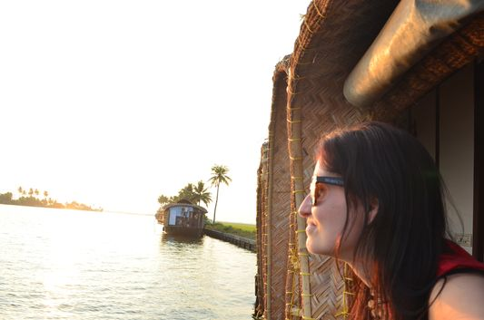 Kerala Backwaters houseboat from Kollam to Alleppey Lake & Lagoons (99)