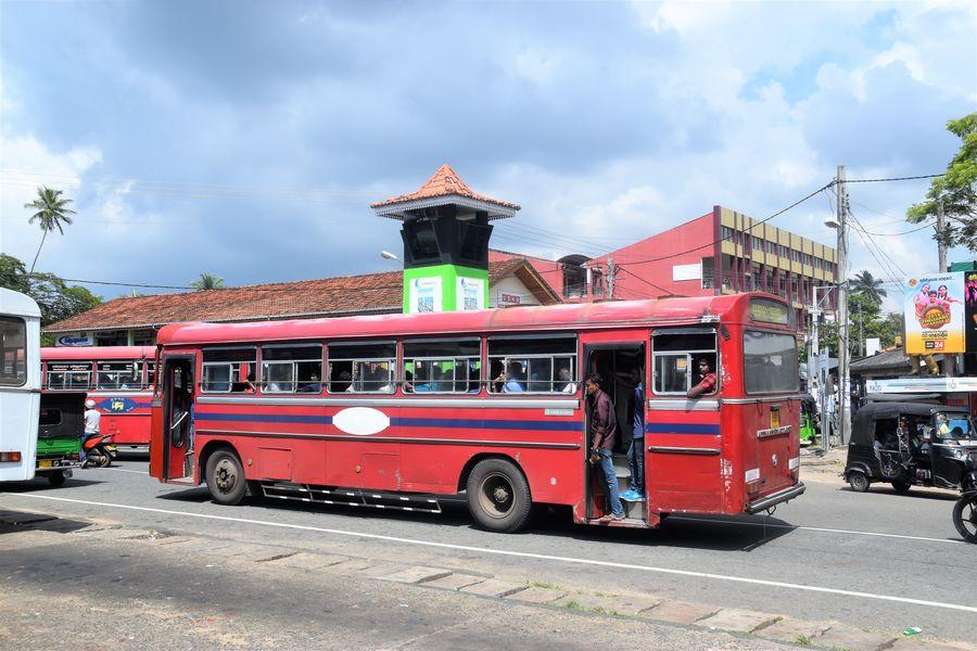 lacna doprava na Sri Lanke