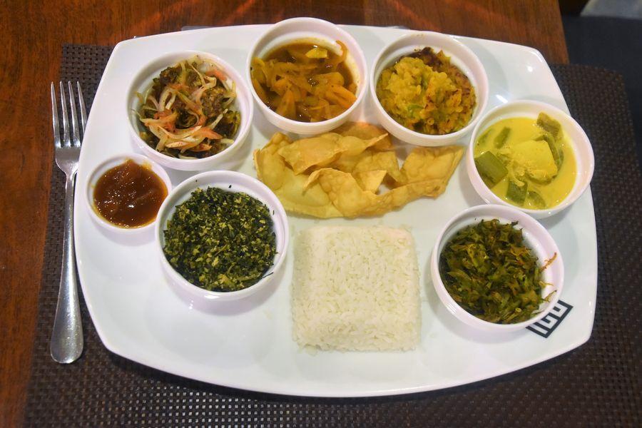 veganska srilanska ryza s kari