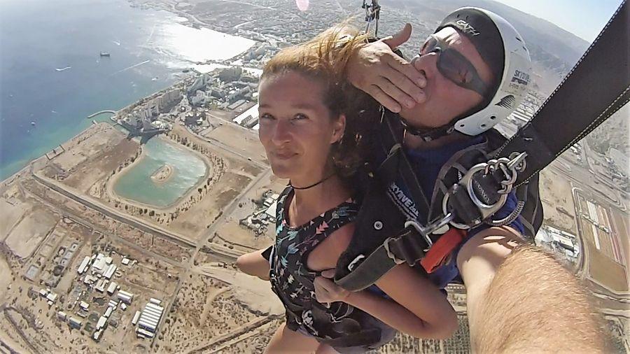 Eilat skydiving