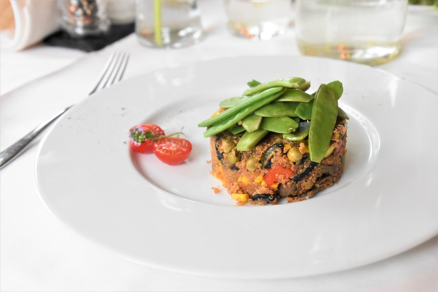 veganska vecera Malvazia hotel