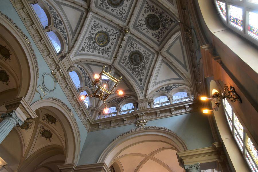 strop vo vnutri Frydlantskej radnice