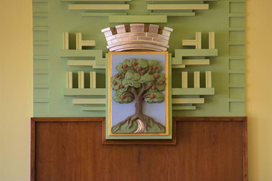 Jablonec nad Nisou jablon v erbe