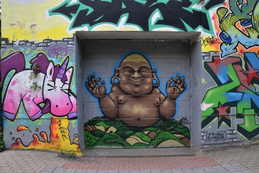 Liberec graffiti