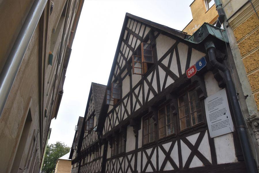 Valdstejnske domy Liberec