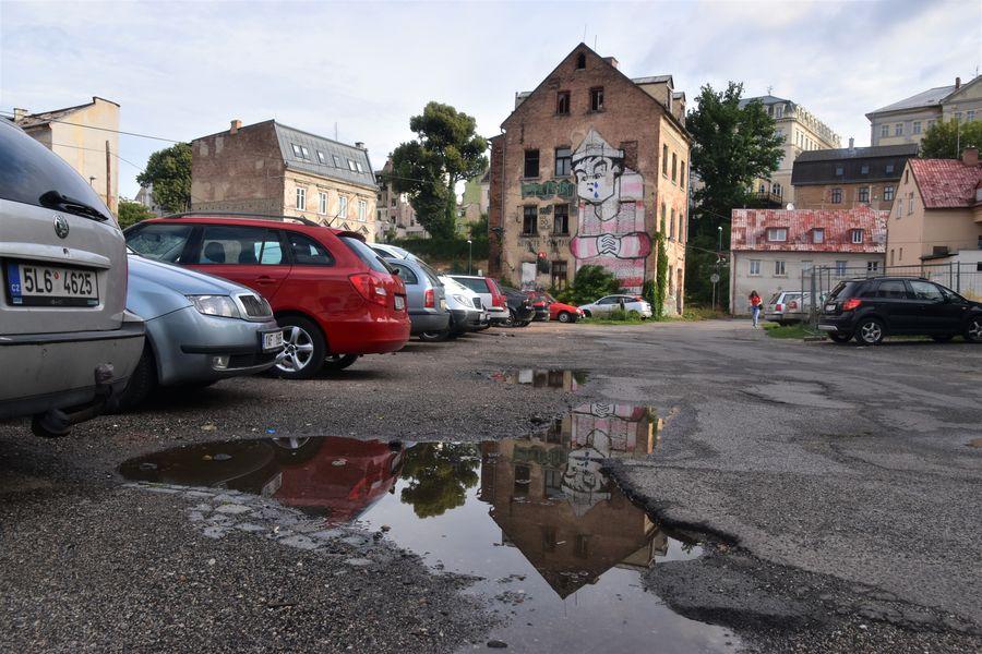 street art Papirove namesti Liberec