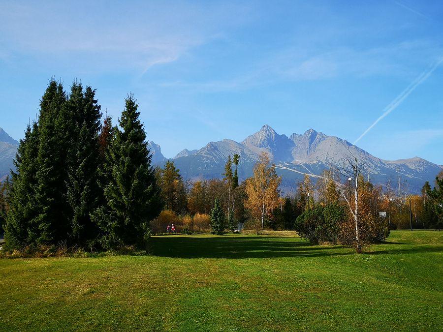 Vysoke Tatry Tatranska Lomnica park