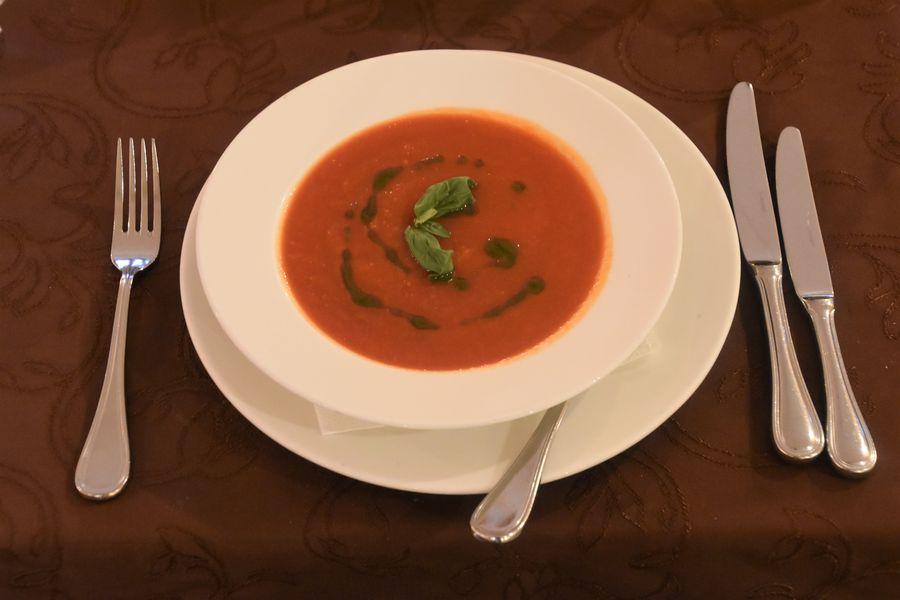 paradajkova polievka Al Lago