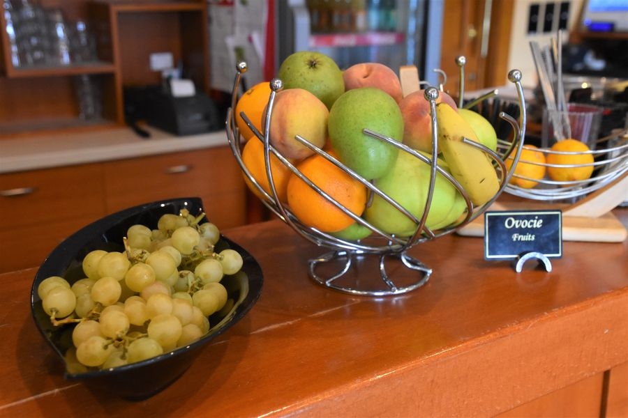 ovocie na ranajkach