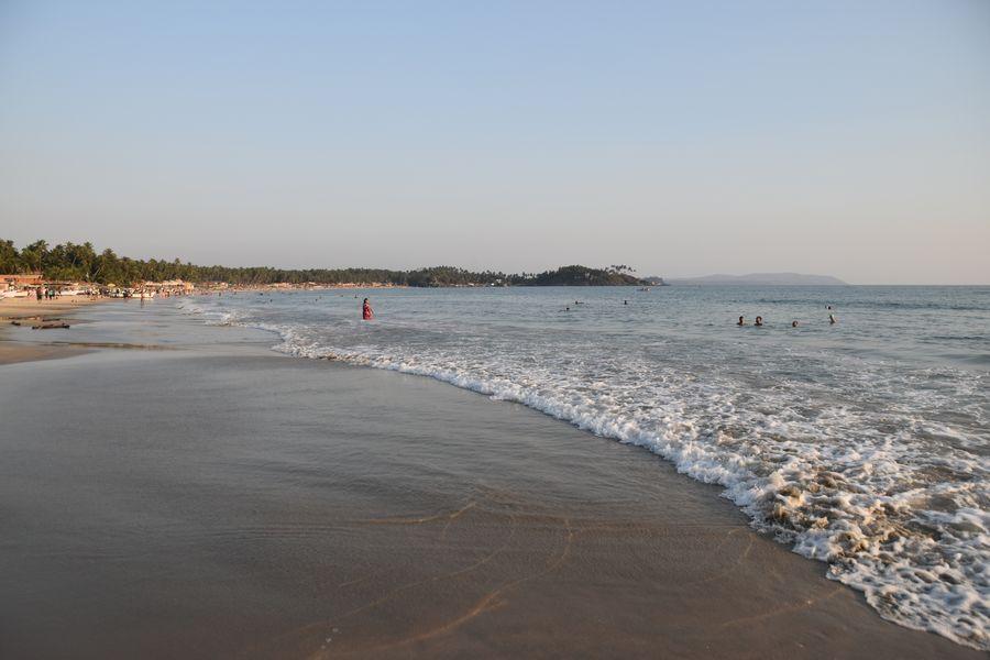 more na Palolem plaz Goa India