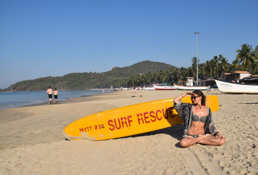 Palolem plaz Goa India