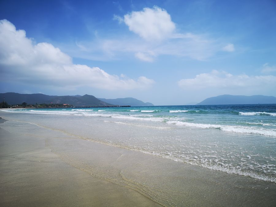 Con Dao plaze - preco navstivit Vietnam