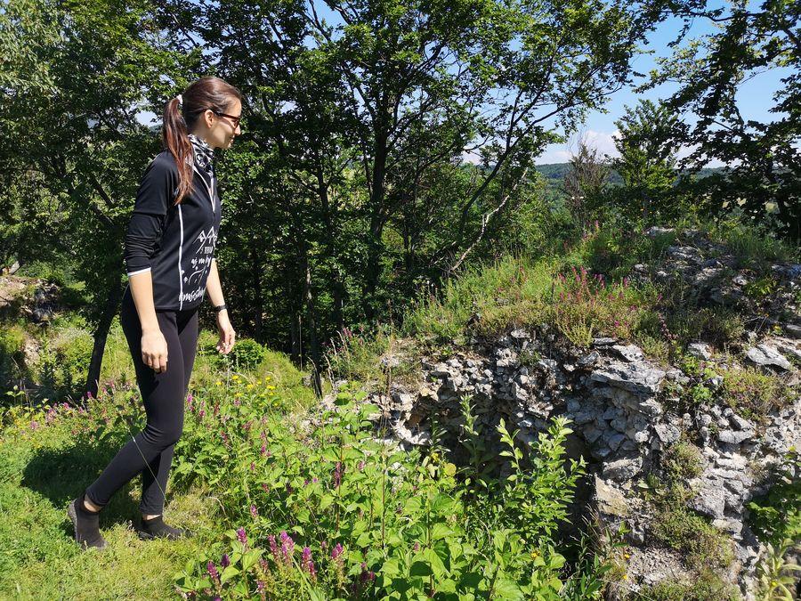 Tibavsky hrad zrucanina