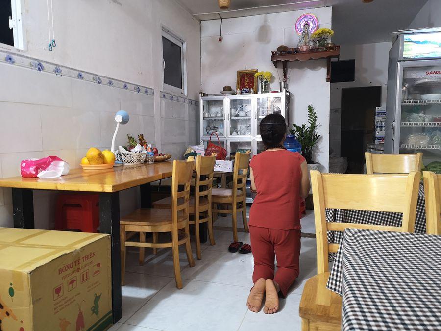 kucharka sa modli v ubore