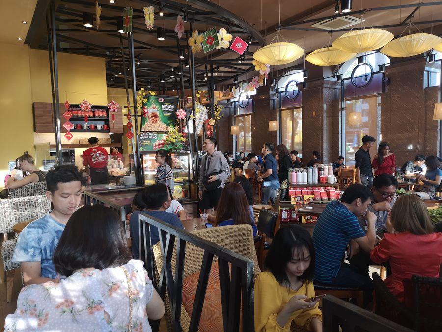 Aki su Vietnamci v kaviarni