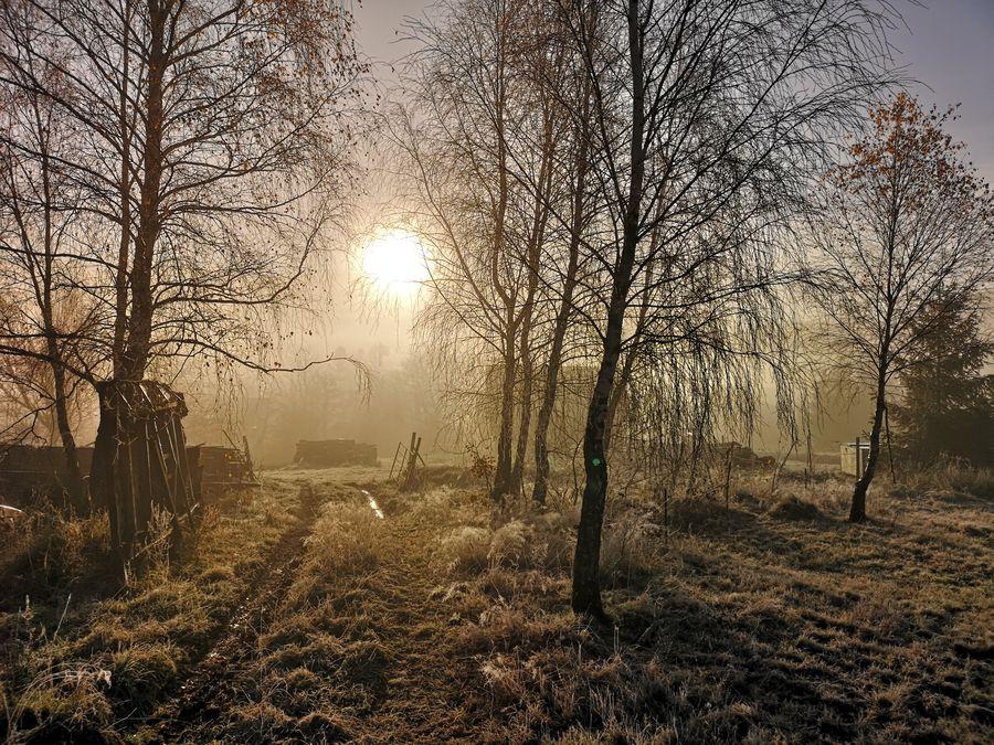 mraz po vychode slnka