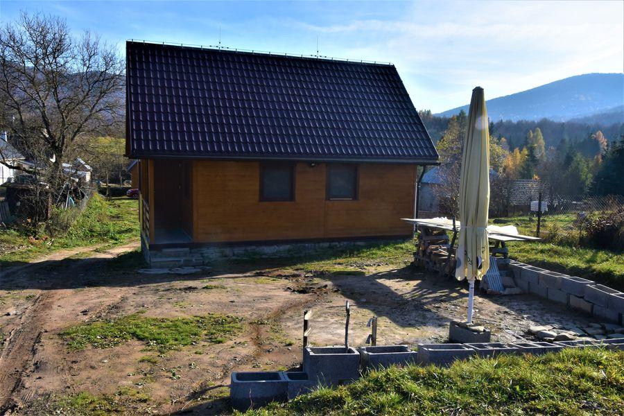 chata v Runine v oktobri