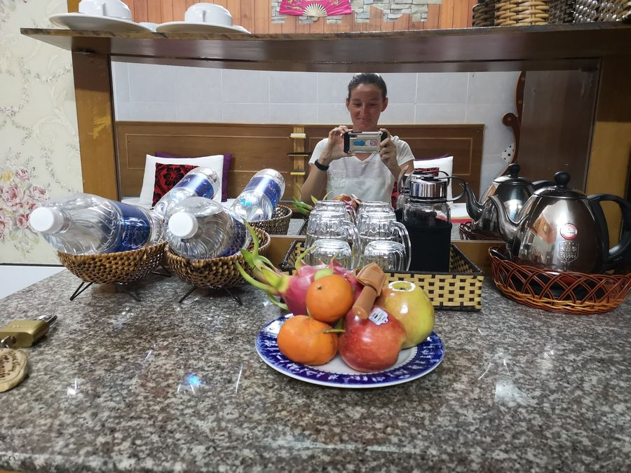 ovocie v homestay