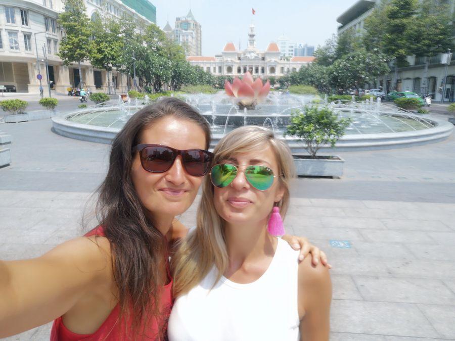 s Dianou v Hociminovom meste